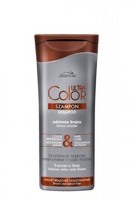 Joanna Ultra Color System Szampon do włosów brązowych i kasztanowych  200ml