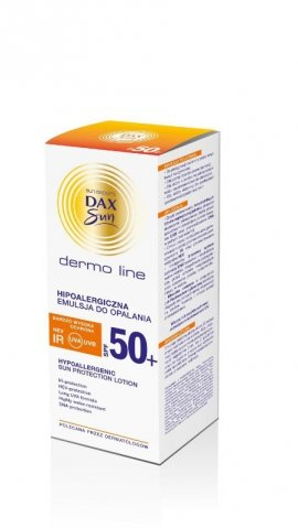 Dax Sun Dermo Line Emulsja do opalania SPF 50 hipoalergiczna  200ml