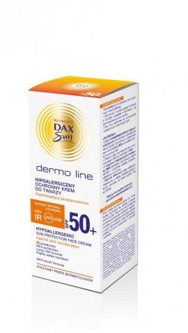 Dax Sun Dermo Line Krem do twarzy ochronny SPF 50 hipoalergiczny  50ml
