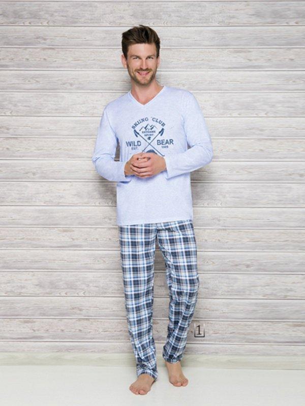 Piżama Arek 2130 AW/17 K1 Błękitna