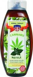SZAMPON DO WŁOSÓW cannabis i pokrzywa 500ml