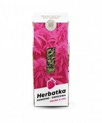 Herbatka konopno owocowa MALINA Z LIPĄ 45g