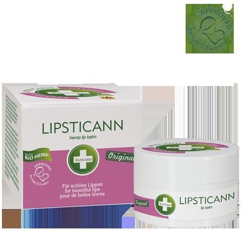 Balsam konopny do ust Lipsticann z woskiem pszczelim 15ml