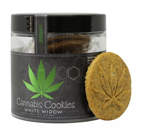 Ciastka Cannabis Cookies White Widow 120 g