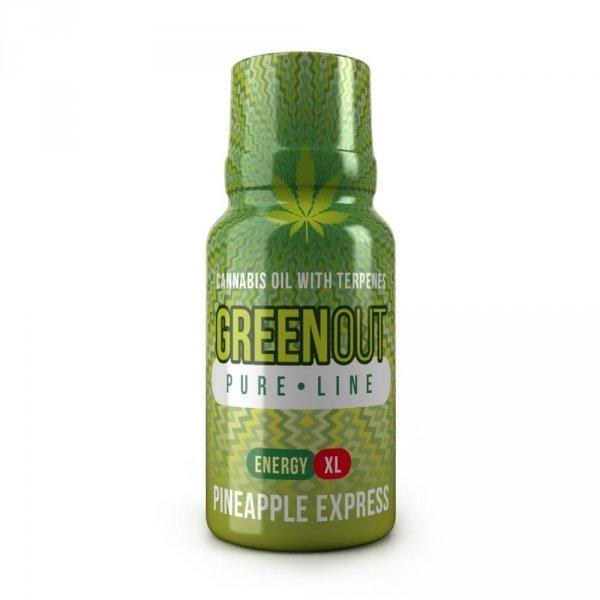 Green Out Pure XL Pineapple Express ENERGY – Ekstrakt Premium 400mg