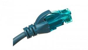 Kabel krosowy (Patch Cord) U/UTP kat.5e niebieski 2m DK-1512-020/B