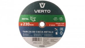 Tarcza tnąca do metalu 230 x 2.0 x 22.2 mm 61H536