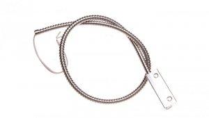 Czujka magnetyczna kontaktron w metalowej obudowie przewody w osłonie B-3A