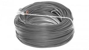 Przewód instalacyjny H05V-K (LgY) 0,5 szary /100m/