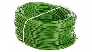 Przewód instalacyjny H05V-K (LgY) 0,5 zielony /100m/