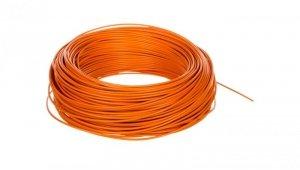 Przewód instalacyjny H05V-K 0,5 pomarańczowy 29094 /100m/
