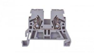 Złączka szynowa 2-przewodowa 2,5mm2 szara 870-901