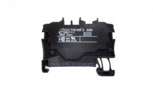 Złączka szynowa 2-przewodowa 1,0mm2 czarna 2000-1205 TOPJOBS