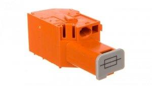 Złączka bezpiecznikowa do transformatorów oznaczniki WTB 4mm2 szara 6,35x32mm 711-404 /100szt./