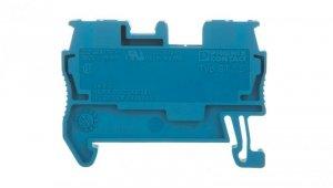 Złączka szynowa przepustowa 2-przewodowa 15mm2 niebieska ST 1,5 BU 3031089 /50szt./