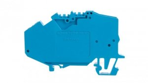 Złączka TOPJOB 1-przewodowa 2,5mm2 do przewodu neutralnego niebieska 780-613 /50szt./