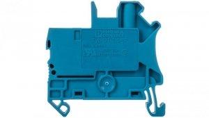 Złączka szynowa 2-przewodowa 2,5mm2 śrubowo/wtykowa niebieska UT 2,5/1P BU 3045020 /50szt./
