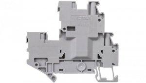 Złączka szynowa 2-piętrowa 2,5mm2 śrubowa/wtykowa szara UTTB 2,5/2P-PV 3060377 /50szt./