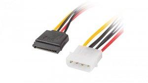 Kabel zasilający MOLEX (M) -> SATA(F) x2 30cm CA-HDSA-11CU-0030