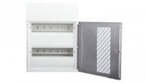 Rozdzielnica modułowa 2x12 natynkowa IP40 drzwi przezroczyste Mini Pragma MIP12212T