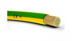 Przewód instalacyjny H07V-K 1,5 żółto-zielony 4520001 /100m/