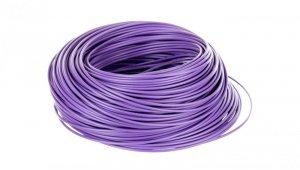Przewód instalacyjny H05V-K 0,75 fioletowy 29104 /100m/