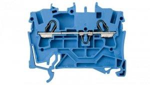 Złączka szynowa 2-przewodowa 2,5mm2 niebieska 2002-1204 TOPJOBS