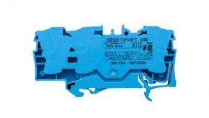 Złączka szynowa 3-przewodowa 6mm2 niebieska 2006-1304 TOPJOBS