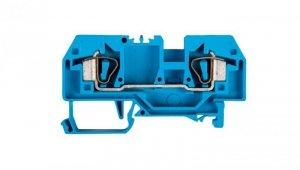 Złączka szynowa 2-przewodowa 6mm2 niebieska 282-904