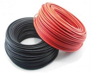 Kabel fotowoltaiczny ELT-FLEX SOLAR HX 1x10 1,5kV DC czerwony /bębnowy/