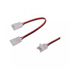 Konektor Złączka Taśm LED V-TAC Taśma-Przewód-Taśma do Taśm i Pasków LED Gęste i Zwykłe 10mm