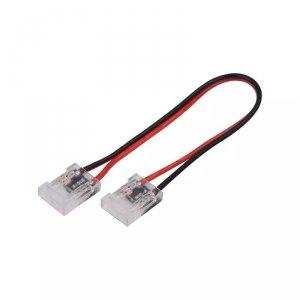 Konektor Złączka Taśm LED V-TAC Przeźroczysta Taśma-Przewód-Taśma Gęste/Zwykłe/COB 10mm