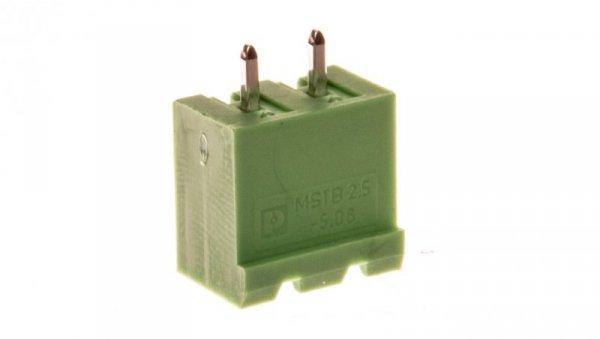 Gniazdo pinowe 2P 320V 12A zielone MSTBVA 2,5/ 2-G-5,08 1755736 /250szt./