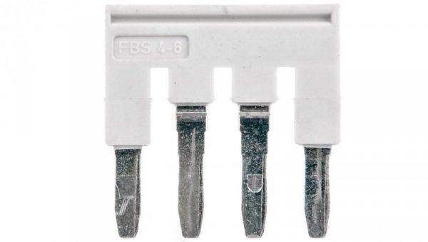 Mostek wtykany 4-biegunowy 6,2mm szary FBS 4-6 GY 3032279 /50szt./