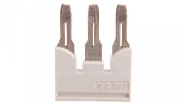 Mostek wtykany 3-biegunowy 8,2mm szary FBS 3-8 GY 3032622 /10szt./