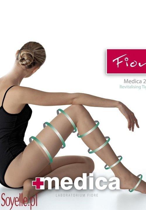 MEDICA 20 rajstopy antycelulit korygujące uda i biodra beżowe, grafitowe, brązowe (mocca)