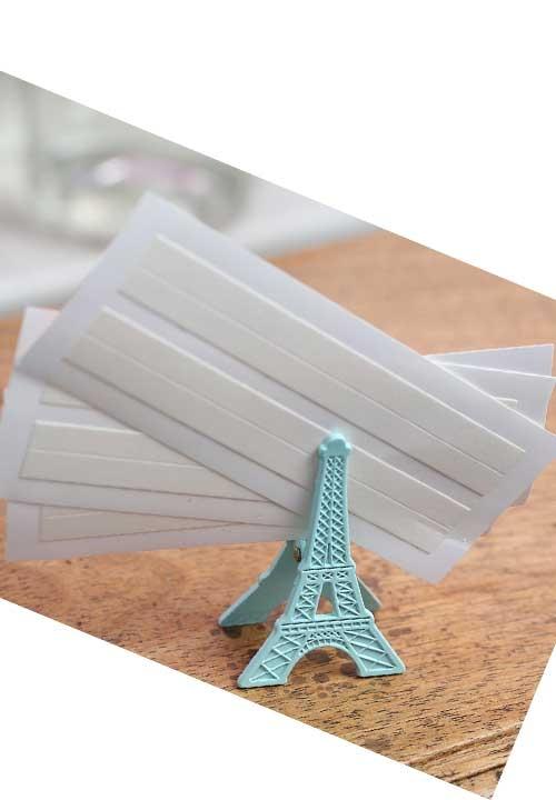 Taśma przylepna transparentna Soyelle - zestaw 2 pasków