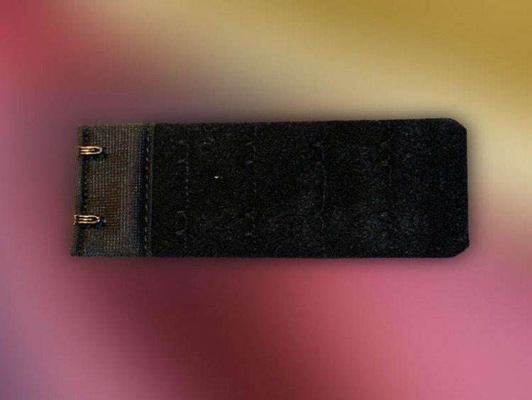 Przedłużka 2 rzędowa 3,8 cm beżowa, biała, czarna, ecri