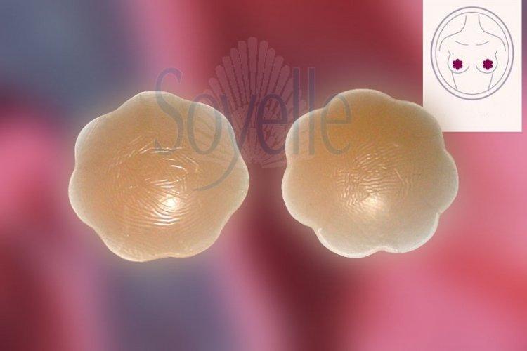 Nalepki silikonowe na sutki wielokrotnego użytku 1 para CU110
