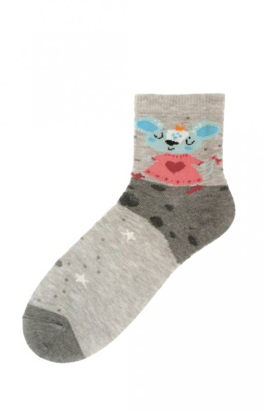 Skarpety Bratex 9706 Happy Socks Kids Girl 22-29