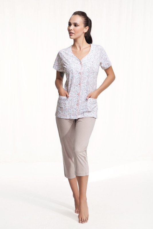 Piżama Luna 476 kr/r M-2XL damska