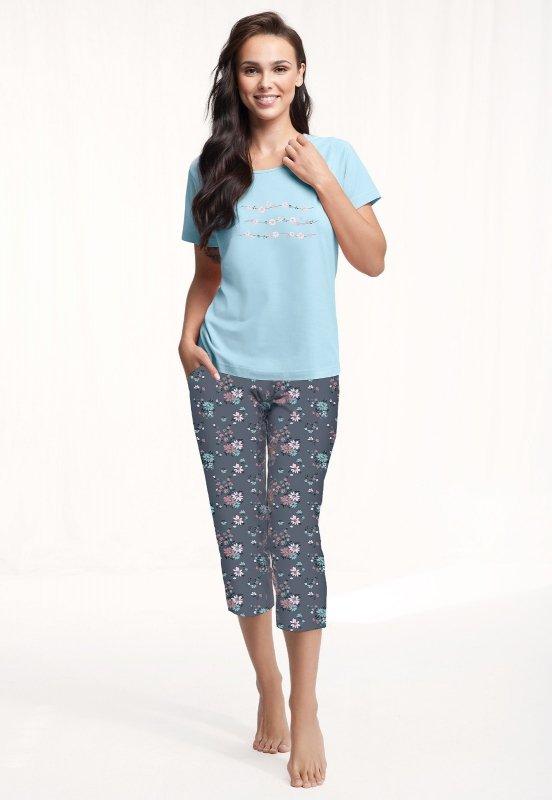 Piżama Luna 568 kr/r M-2XL damska