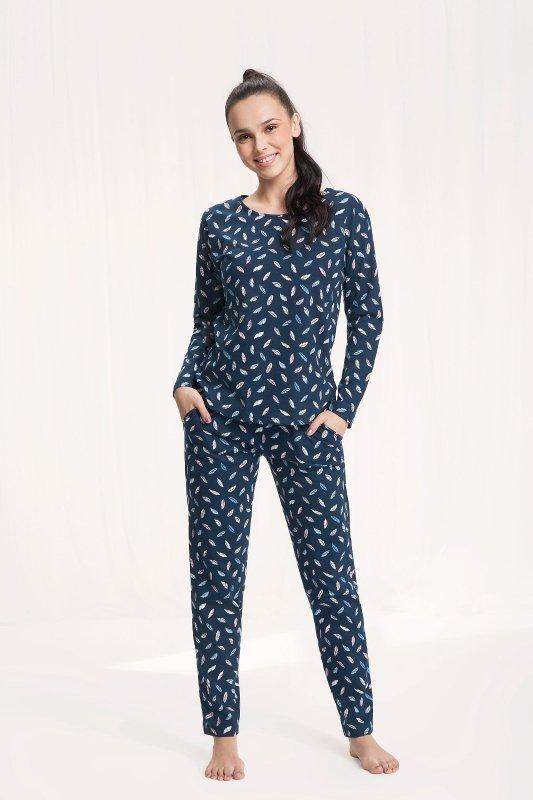 Piżama Luna 639 dł/r 3XL damska