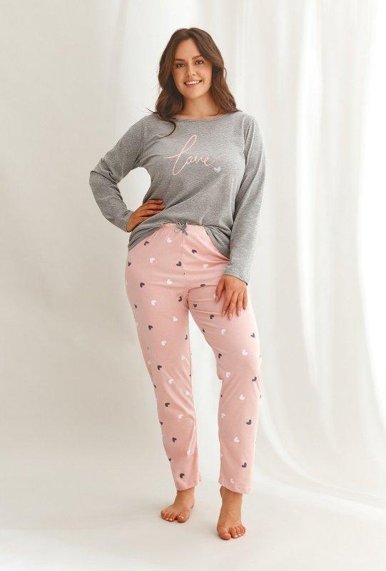 Piżama Taro Cora 2607 dł/r 2XL-3XL Z'22