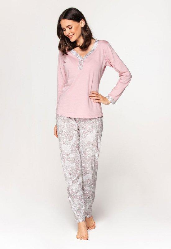 Piżama Cana 579 dł/r S-XL