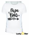 Zestaw Koszulek rodzinnych Mama, Papa, Baby BEAR