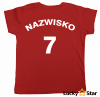 Koszulka dziecięca Polska Twoje imię, nazwisko