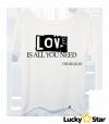 Koszulka Damska oversize LOVE is all you need