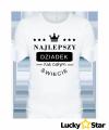 Koszulka Męska Najlepszy DZIADEK na całym świecie