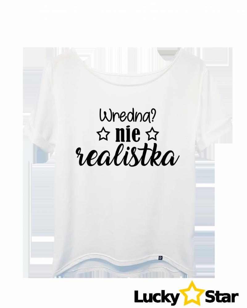 Koszulka Damska REALISTKA